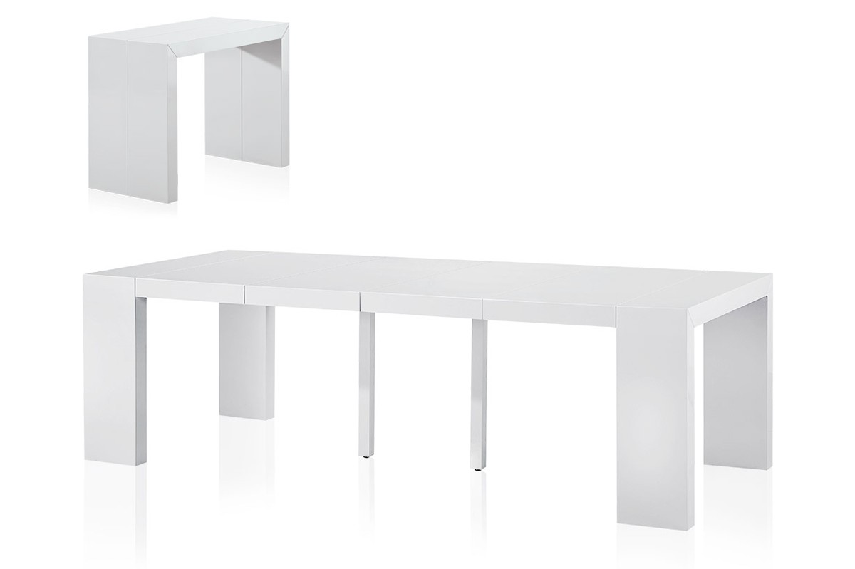 Table console extensible : vous êtes tenté de refaire votre décoration ?